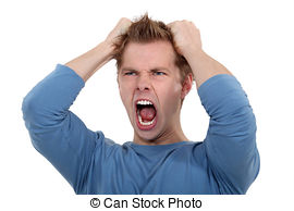 man-screaming-and-pulling-his-hair-stock-images_csp8441795